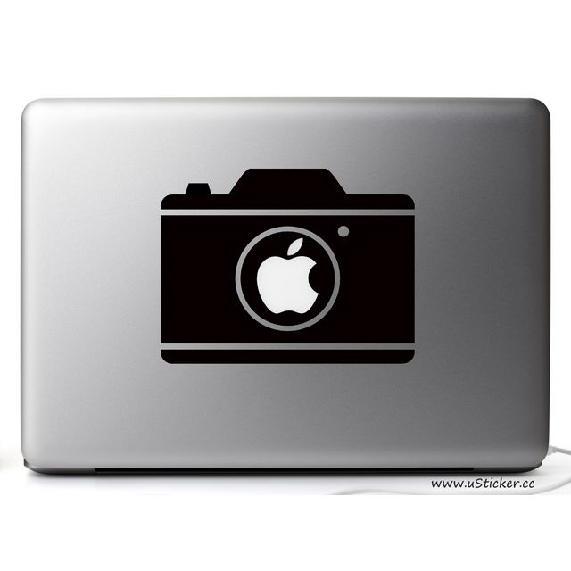 【USticker】☆Apple MacBook創意貼紙☆Camera -MacBook全系列適用