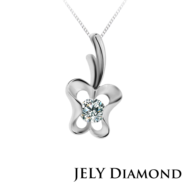 【JELY Diamond】APPLE HEART 0.30克拉美鑽項鍊