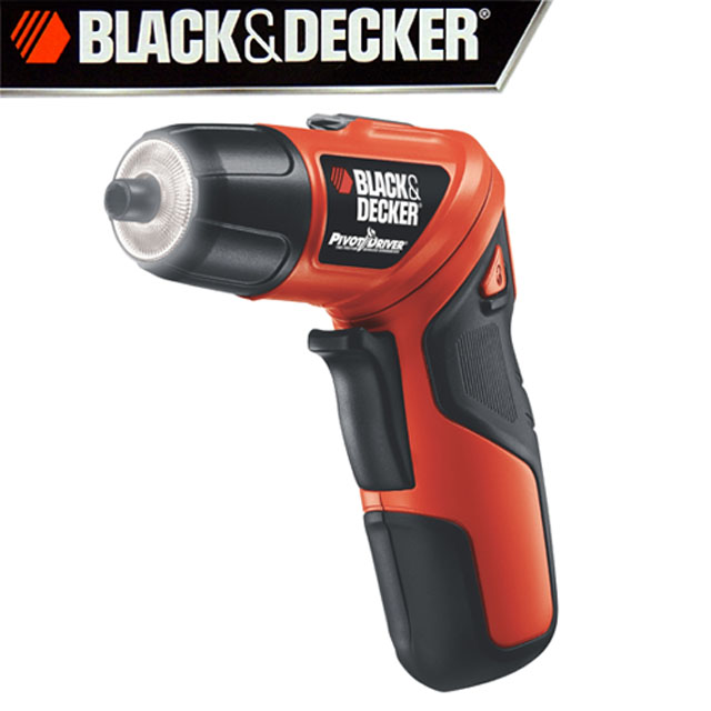 【美國百工black&decker】3.6v 旋轉電動起子機 plr36nc