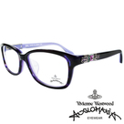 ~Vivienne Westwood~英國Anglomania光學眼鏡 紫琥珀  AN28