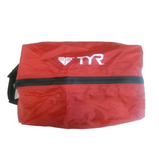 【TYR】Water proof zip pouch 防水手提包 紅色