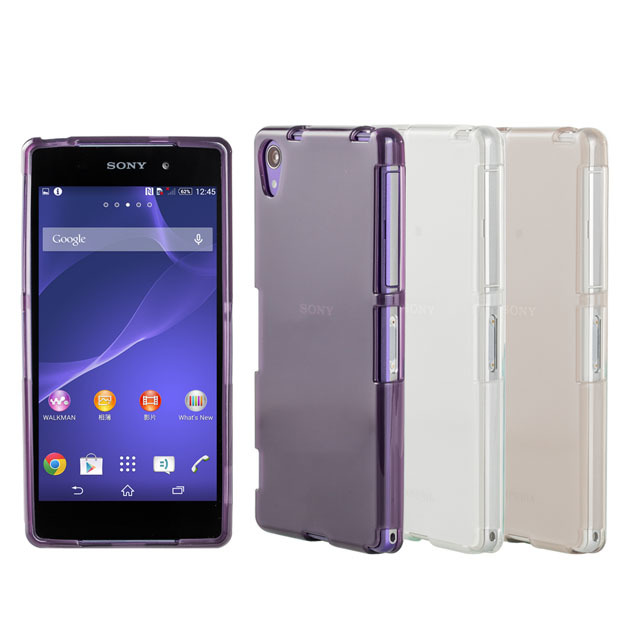 【simple wear】sony xperia z2 專用保護套 tpu透色
