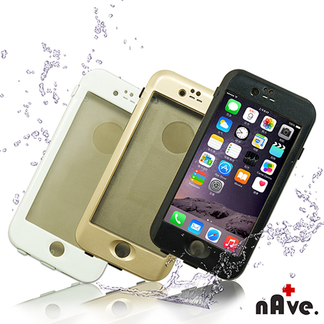 【nAve】iPhone6Plus防水手機殼 3色