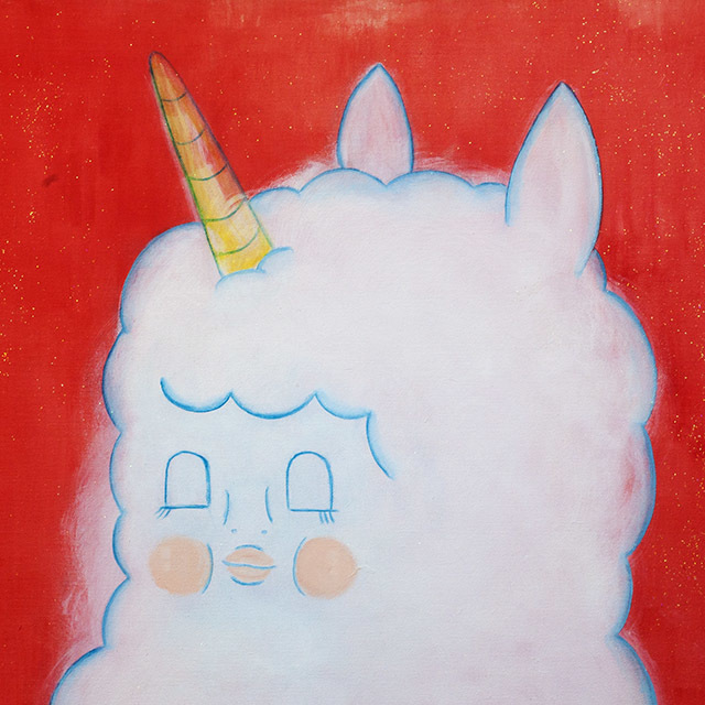 【Fluffy Unicorn】Baby Fluffy Unicorn,Fluffy 紅