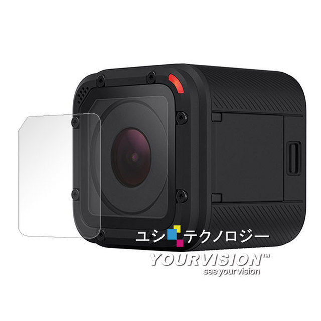 【Yourvision】GoPro HERO4 Session 副廠 光學 顯影抗刮螢幕貼(二入)