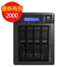 WD  12TB(3T*4) 3.5吋NAS  My Cloud EX4
