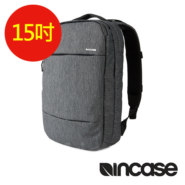 【INCASE】City Compact Backpack 15吋  城市輕巧後背包 (麻灰)