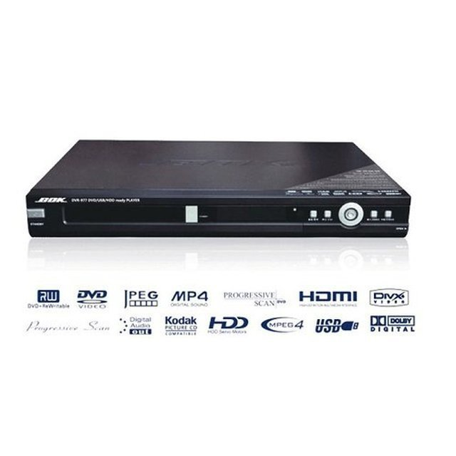 【bok】hdmi/usb/divx/mp4 dvd錄放影機 dvr-977