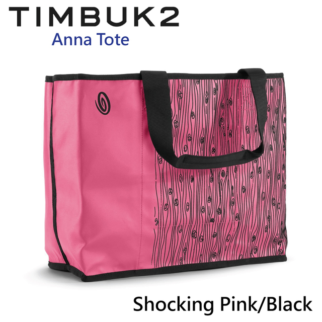 【美國Timbuk2】Anna Tote托特包 Shocking Pink/Black-