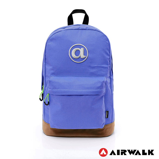 【airwalk】 頑色糖果系列 純色筆電後背包  -4色