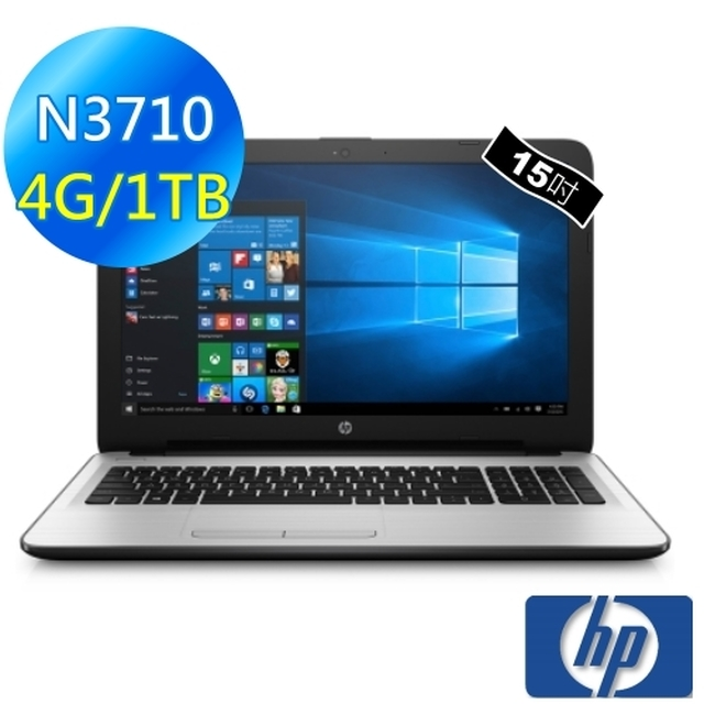 【HP】Notebook 15-ay032TU 白色