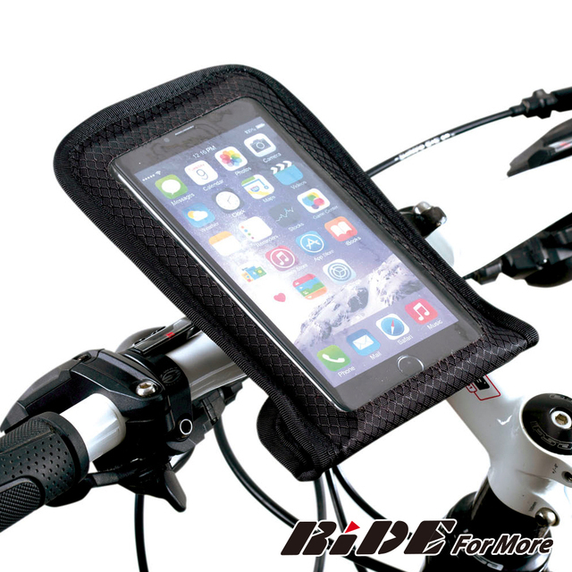 【 RiDE For More】IPX6全防水5.7吋自行車手機袋 RAY
