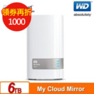 WD My Cloud Mirrorr(Gen2)6TB (3TBx2) 雲端儲存系統