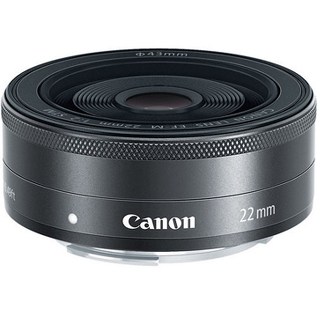 【Canon】EF-M 22mm F2.0 STM 定焦鏡 (平輸-白盒)