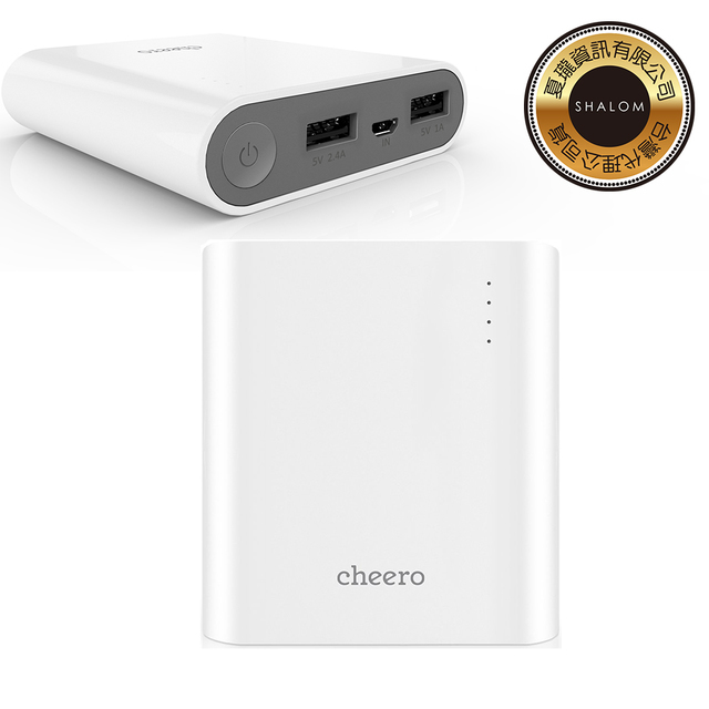 【日本cheero】 Power Plus 3 13400mAh 行電