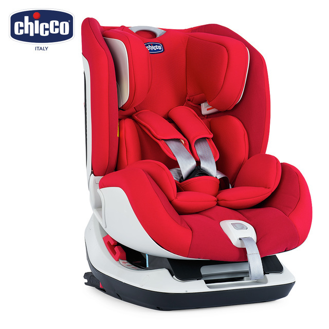 【chicco】Seat up 012 Isofix安全汽座  自信紅
