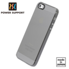 POWER SUPPORT iPhone5/5S Air Jacket  超薄保護殼 透黑款