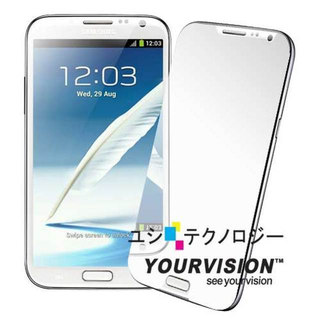【Yourvision】Samsung Note 2 N7100 高亮度鏡射 螢幕保護貼(一入)