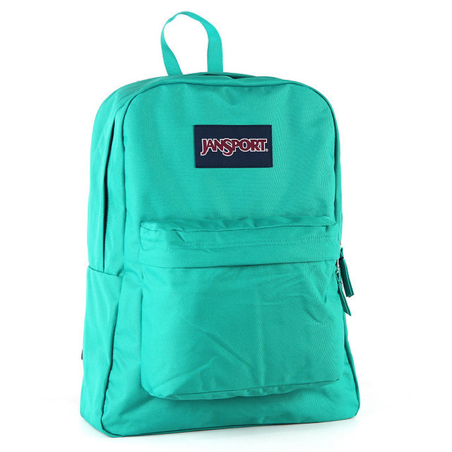 【JanSport 】校園背包(SUPER BREAK) 孔雀藍