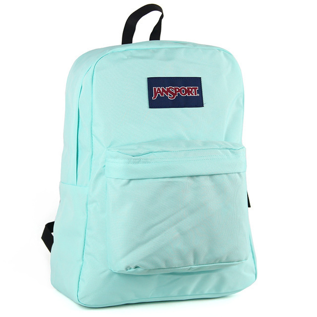 【JanSport 】校園背包(SUPER BREAK) 湖水綠