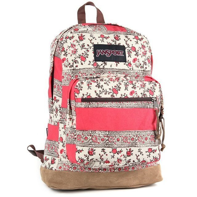 【JanSport】(RIGHT PACK EXPRESSIONS) 印度玫瑰