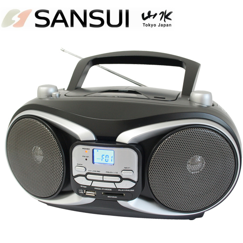 【sansui 山水】cd/mp3/usb/sd/aux手提式音響 (sb-88n)