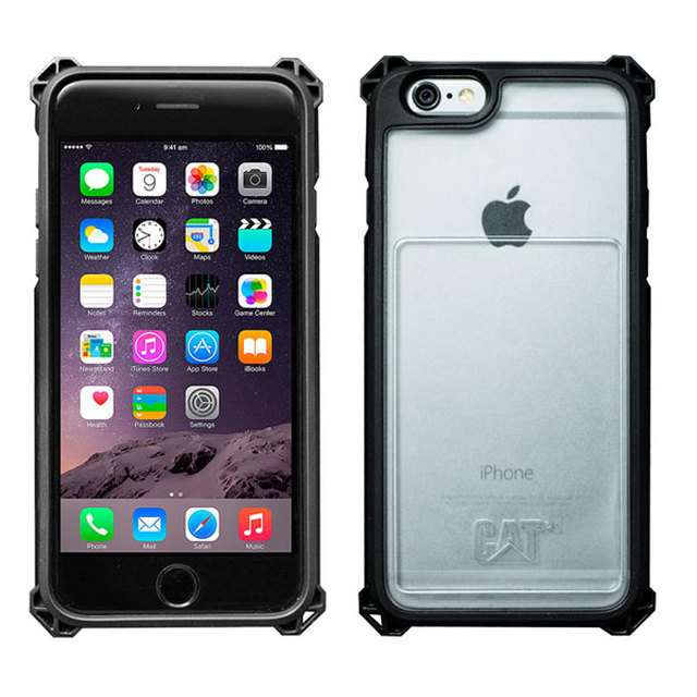 【CAT ACTIVE UTILITY™】iPhone 6 / 6s PROTECTIVE CASE 防摔保護殼(含票卡夾)