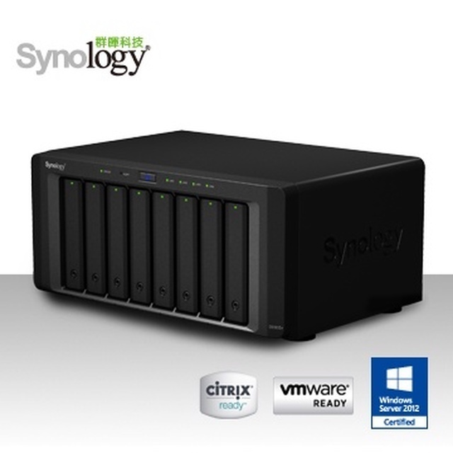 【Synology 群暉】 DS1815+ NAS 網路儲存伺服器
