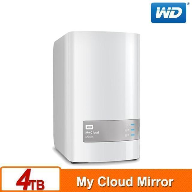 【送1200禮券WD】My Cloud Mirror(Gen2) 4TB (2TBx2)雲端儲存系統