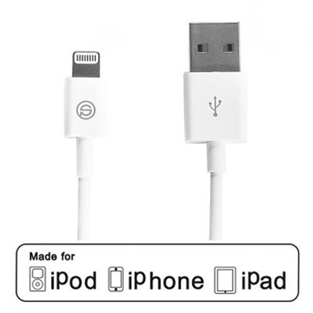 【OPSO APPLE】MFI認證Lightning 8Pin iPhone 傳輸充電線(100cm)
