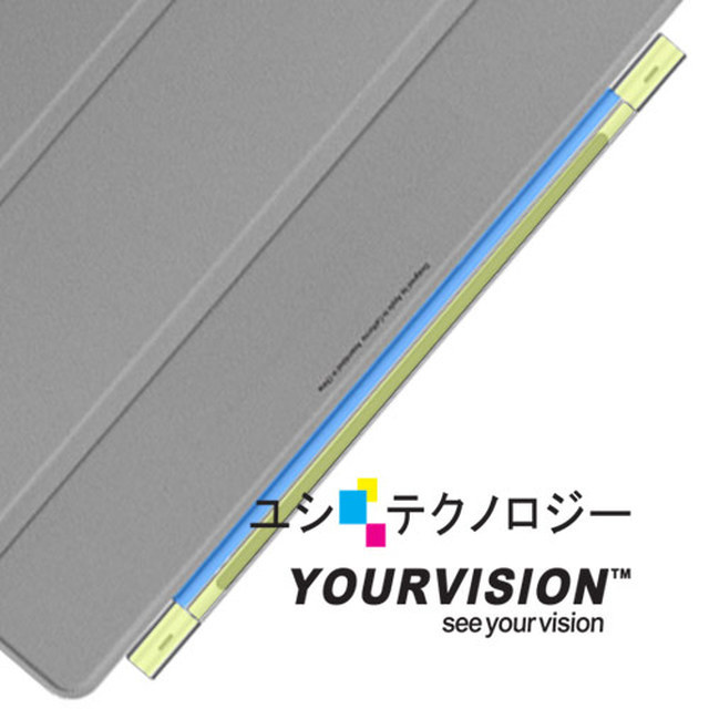 【Yourvision】Apple iPad Smart Cover 轉軸 保護膜(二組入)-贈布