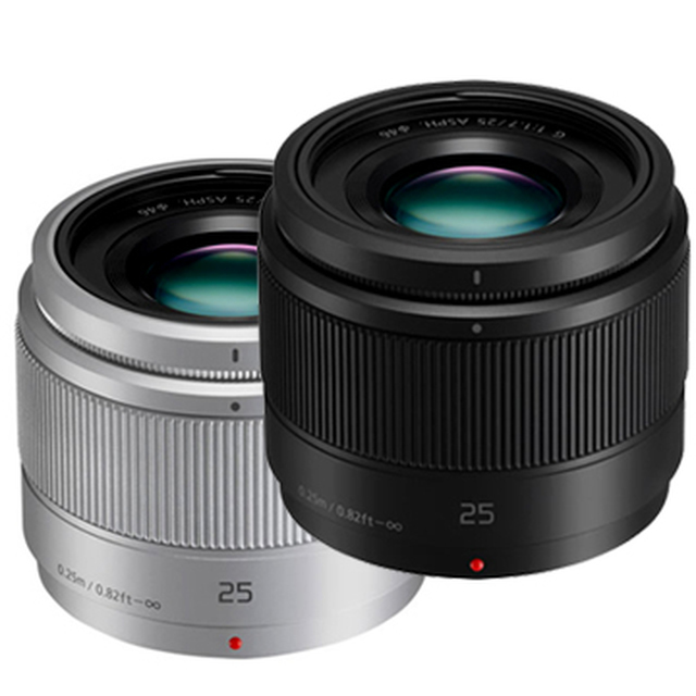 【PANASONIC】LUMIX G 25mm F1.7 ASPH 定焦鏡(公司貨)