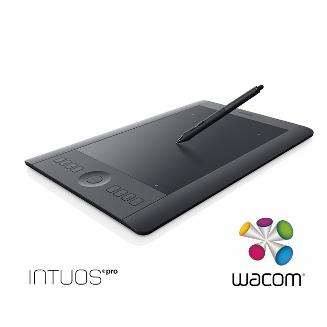 【WACOM】Intuos Pro Touch Medium繪圖板 PTH-651/K1-C