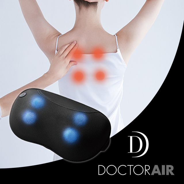 【DOCTOR AIR】3D按摩枕 黑色