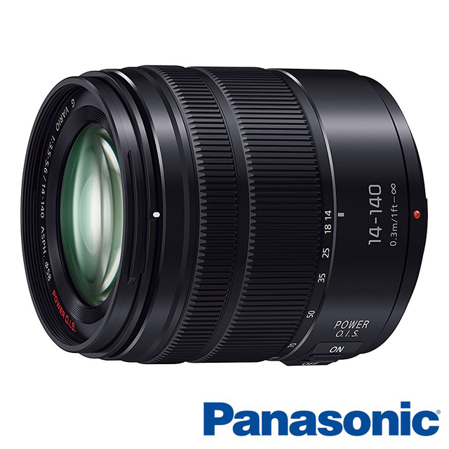 【Panasonic】 Vario 14-140mm F3.5-5.6 Asph. (14-140,公司貨)沉穩黑