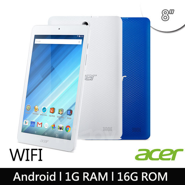 【ACER Iconia】One 8 B1-850 WiFi版1G/16G 送KITTY好禮組