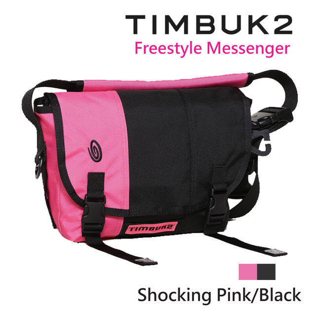【美國Timbuk2】Freestyle Messenger郵差包  Shocking Pink-XS