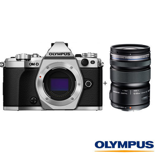 【降特惠↘送64G Olympus】E-M5 Mark II+12-50mm EZ 公司貨 送64G全配組