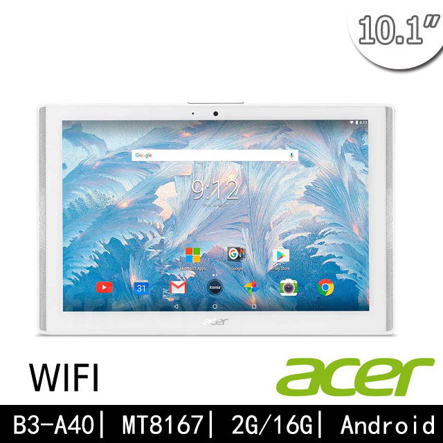 【ACER Iconia One 10】B3-A40 2G/16G (Wifi版) 四核平板 送2禮