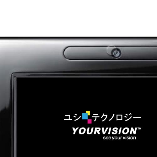 【Yourvision】Wii U GamePad 平板控制器 鏡頭保護膜-贈布