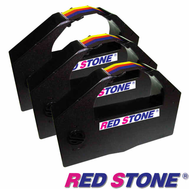 【RED STONE 】for EPSON S015139/DLQ3000黑色色帶組 (1組3入)