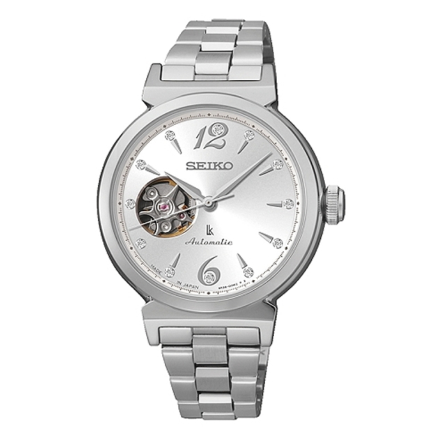 【SEIKO】LUKIA Mechanical 時尚耀眼機械 女腕錶/4R38-00N0N