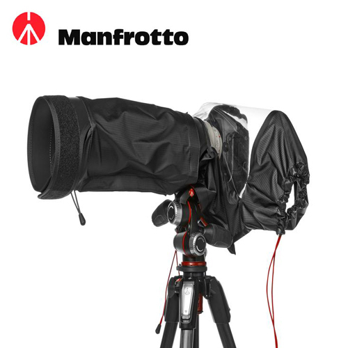 【Manfrotto 曼富圖】E-704 PL Elements Cover 旗艦級鏡頭雨衣 704