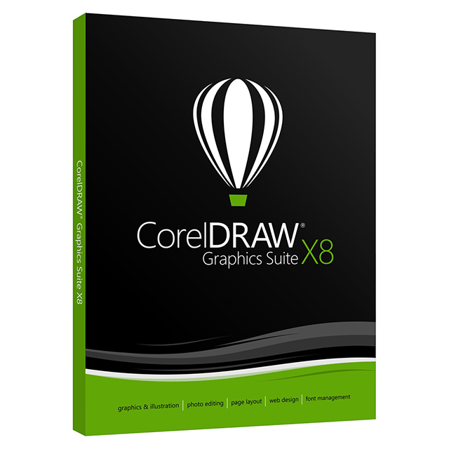【CorelDRAW】 Graphics Suite X8 中文完整版盒裝