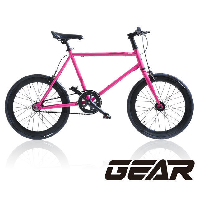 【GEAR】Mini Fixed Gear 20吋迷你單速車 MF2