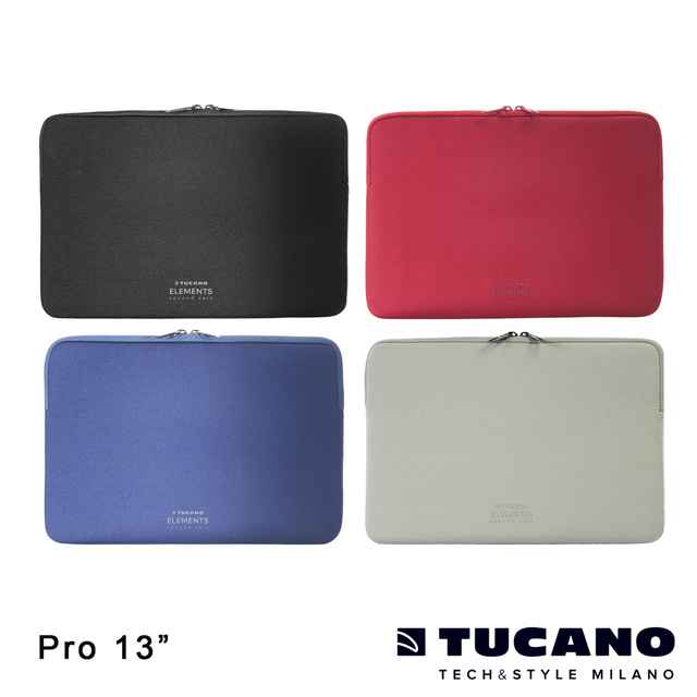 【TUCANO】ELEMENTS MB Pro Retina 13吋 專用防震內袋