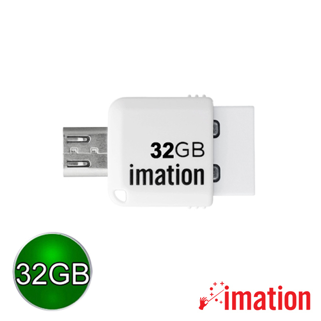 【Imation】Mini OTG 2.0 32GB(白) IMN-JP2-32-WH