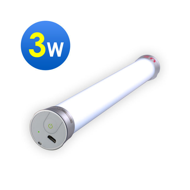 【福連行 US】Anywhere 手持LED燈管 3W (充電式)
