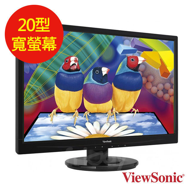 【優派 ViewSonic 】VA2046a-LED 20型LED寬螢幕 VA2046a