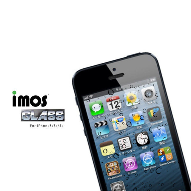 【iMos 】iPhone5/5S/5C 玻璃保護貼 Solid EX 0.33mm 9H